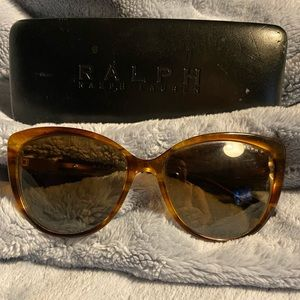 EUC Ralph Lauren Cat Eye Sunglasses